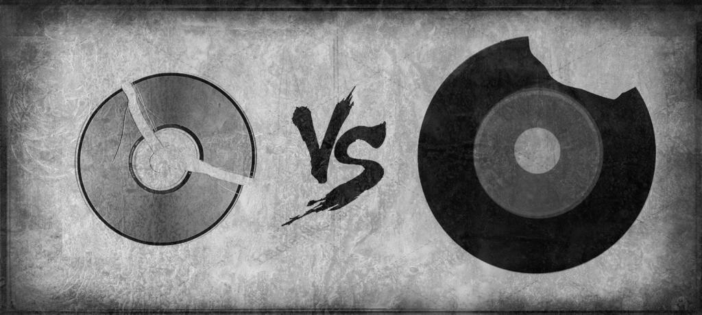 Schallplatte vs CD