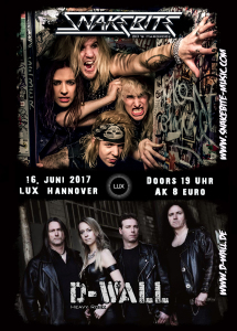 Tourflyer - And out come the Snakes 2017 (Flyer Hannoverr) v3
