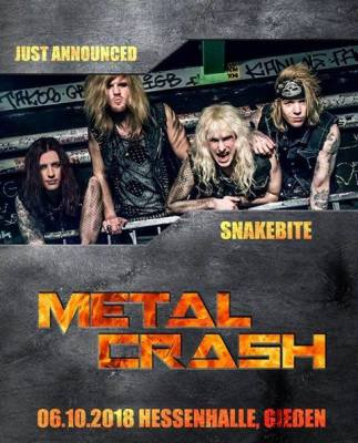 Snakebite - Metal Crash